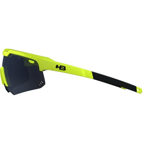 Ciclomar Bike Shop - Óculos HB Shield Evo M Neon Yellow Gray - Vestuário